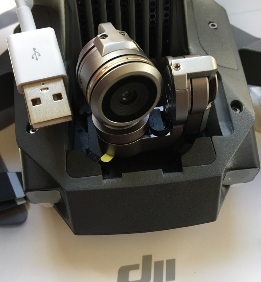 Gimbal and Camera Size
