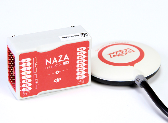 DJI Naza Flight Controller with GPS Puck