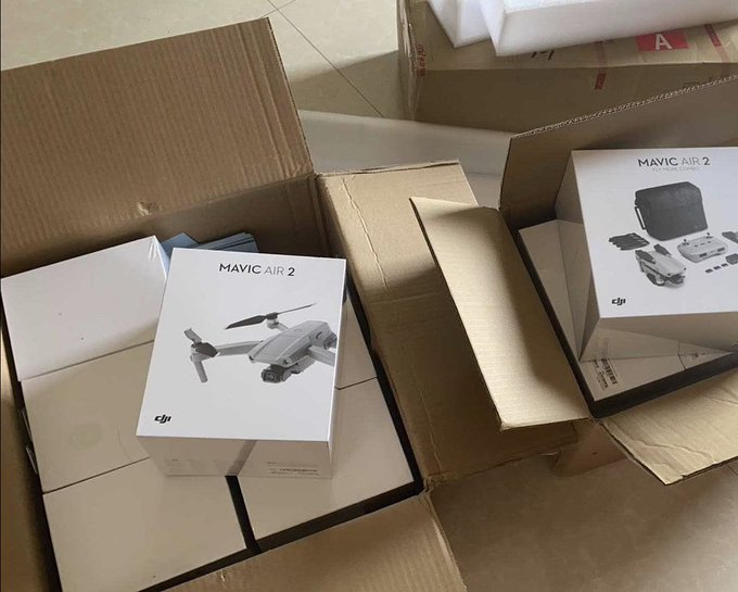 DJI Mavic Air 2 leaked packaging