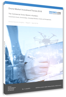 Drone Investment Trends Report 2018 - Cover small comp