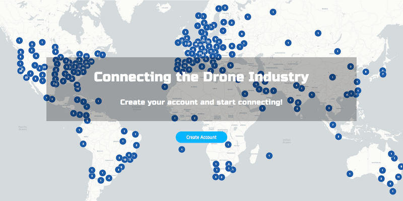 Drone Industry Map