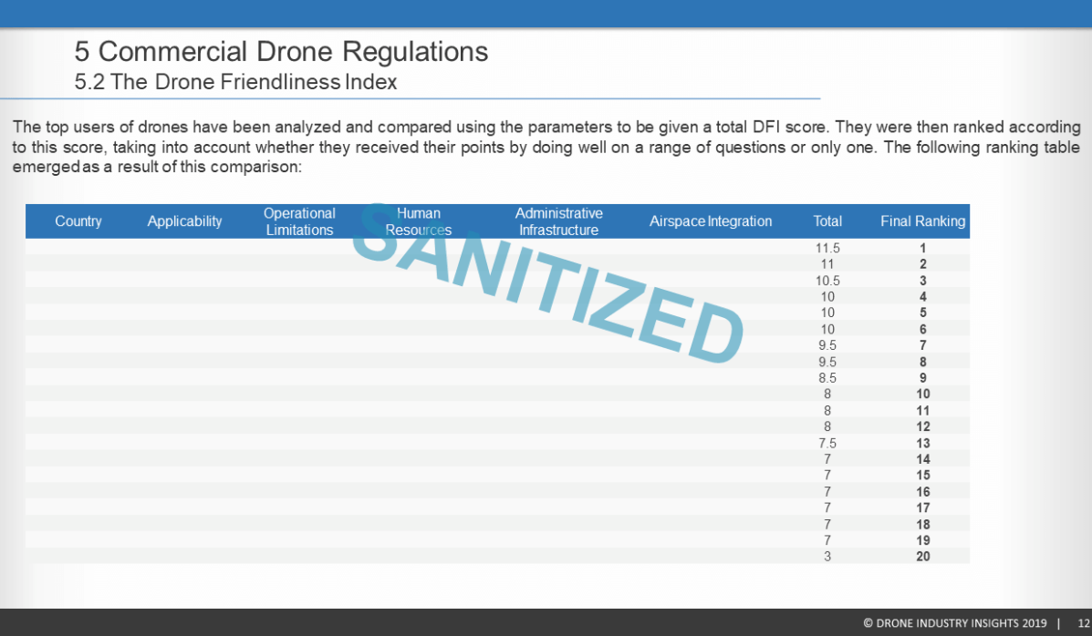Drone Market Report 2019 Sample 4