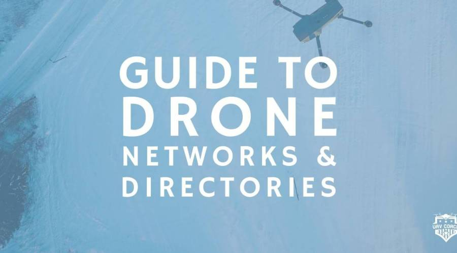 Guide to certified drone networks and directories