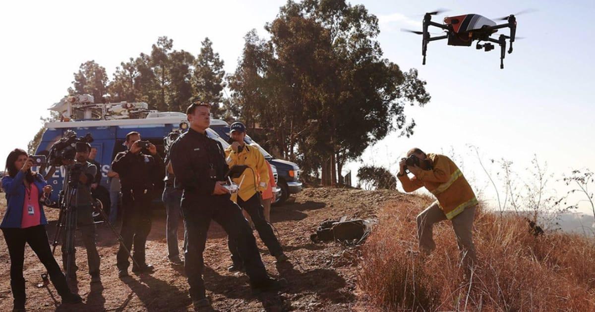 LAFD-drones