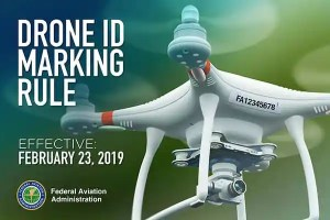 drone marking rule