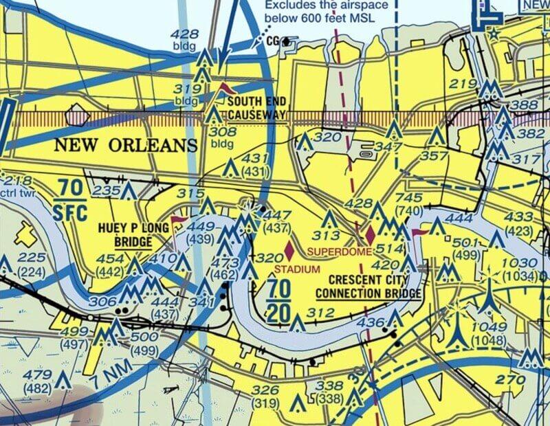 faa drone testing centers Louisiana