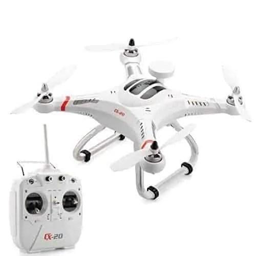 Cheerson-CX-20-Quadcopter-10M-Per-Second-GPS-hold-Auto-Return-300M-Remote-Range-Camera-Mount-2700mAh-Battery-0