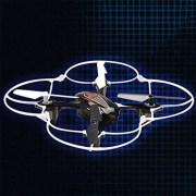 Syma-X11C-Mini-Drone-Cuadricptero-RC-Air-RTF-20-Mp-Cmara-4-Canales-24GHz-Luz-LED-Negro-0-0