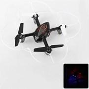 Syma-X11C-Mini-Drone-Cuadricptero-RC-Air-RTF-20-Mp-Cmara-4-Canales-24GHz-Luz-LED-Negro-0-1