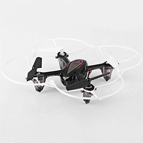 Syma-X11C-Mini-Drone-Cuadricptero-RC-Air-RTF-20-Mp-Cmara-4-Canales-24GHz-Luz-LED-Negro-0