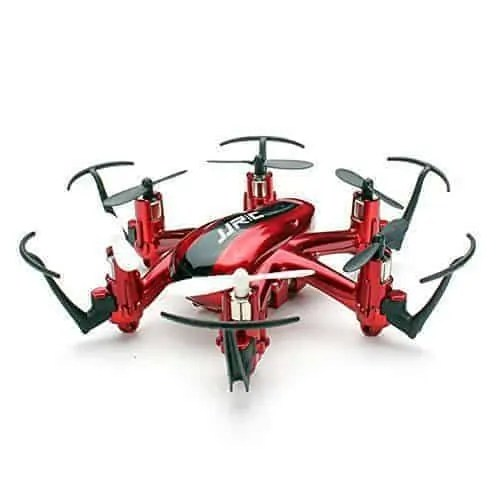 Haibei-H20-Hexrcopter-24G-4-Canales-6-Axis-Gyro-Drone-Rc-Quadcopter-3D-Modo-sin-Cabeza-Rollover-Rojo-0