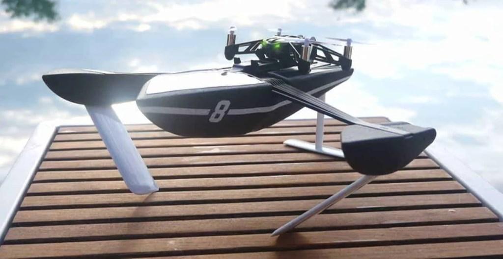 parrot hidrofoil drone