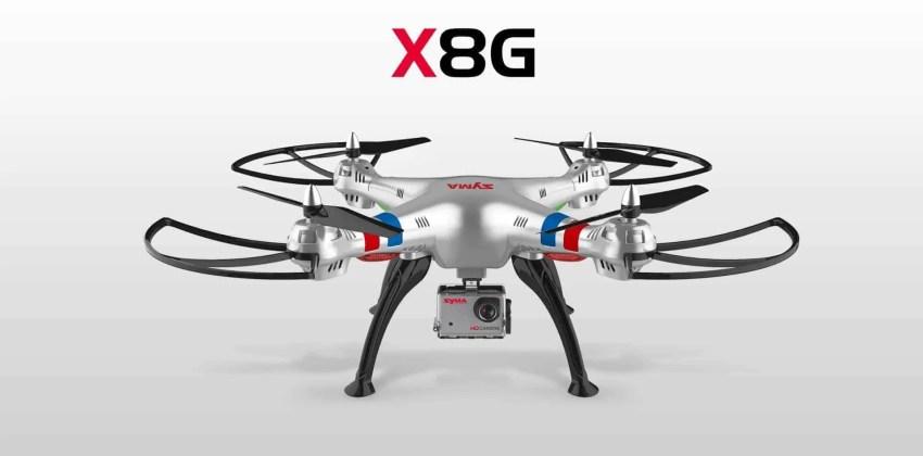 Syma X8G y X8HG con cámara HD de 8 mp
