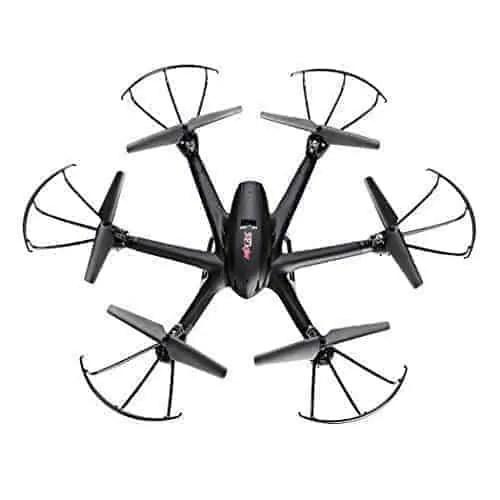 Arshiner-MJX-X600-24G-4-Canales-RC-Quadcopter-Drone-Hexacopter-6-Ejes-Gyro-3D-Rollo-de-Retorno-Automtico-sin-Cabeza-Modo-Uno-Volver-Helicptero-Keysin-cmara-Negro-0