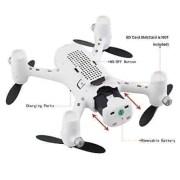 BEIYI-Hubsan-X4-Cmara-Plus-H107C-24-GHz-de-4-canales-de-6-ejes-girocomps-RC-Quadcopter-RTF-aviones-no-tripulados-con-la-cmara-HD-720P-0-3