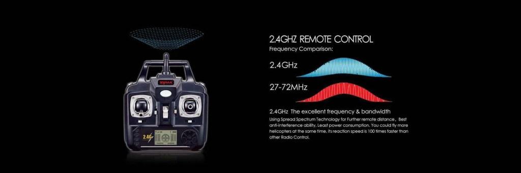 syma x8hc radio control