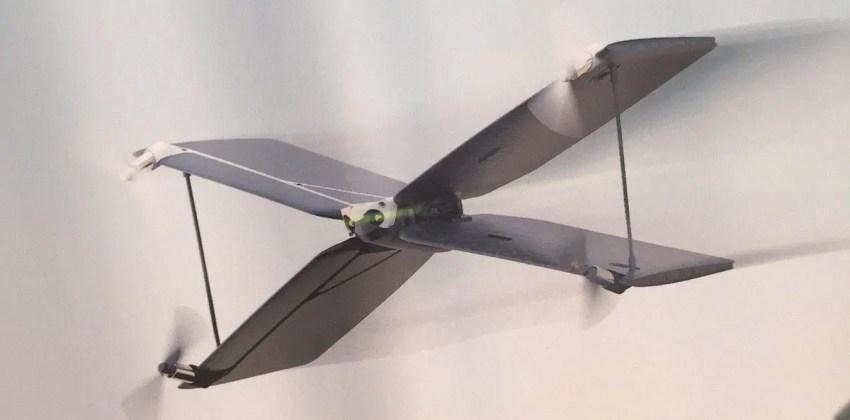 Parrot Swing, el nuevo híbrido mitad quadcopter,  mitad plane drone