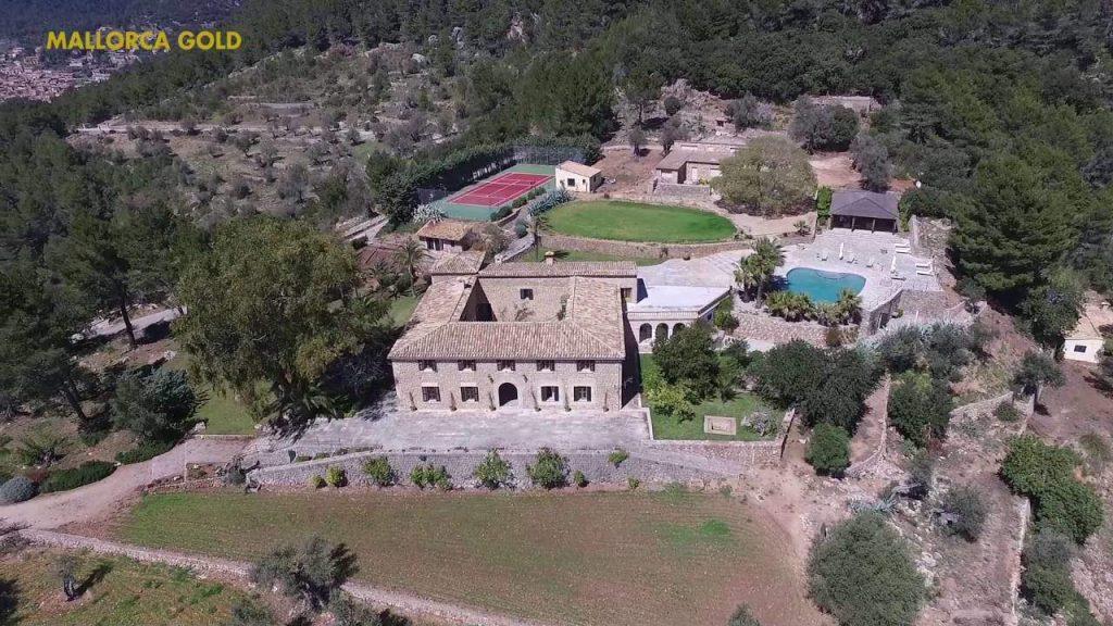 Casa de posesión en Valldemossa con vistas impresionantes