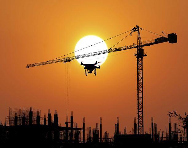 Dron realizando vigilancia