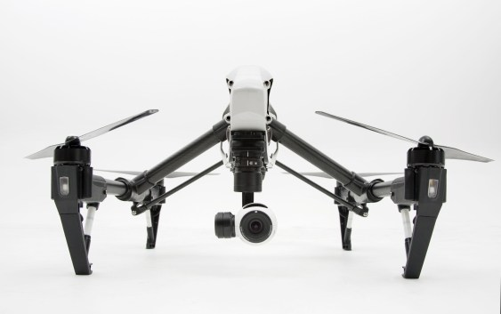 DJI Inspire with a 4K camera