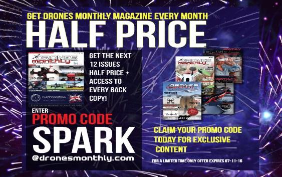 Save Big This Weekend! Get Drones Monthly Half Price!