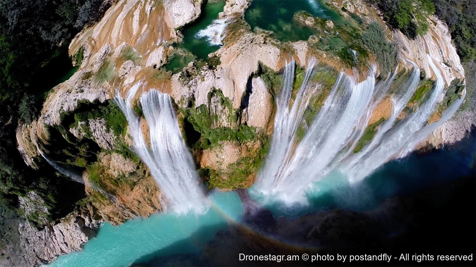 Tamul waterfall