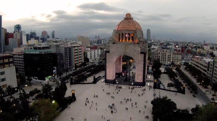 Revolution Monument, México City, México.