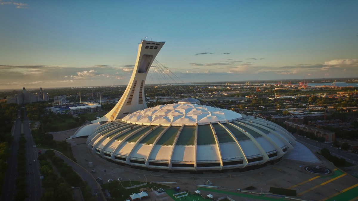 Image result for olympic stadium montreal