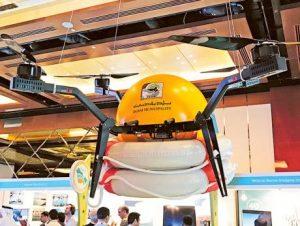 drone lifeguard in dubai