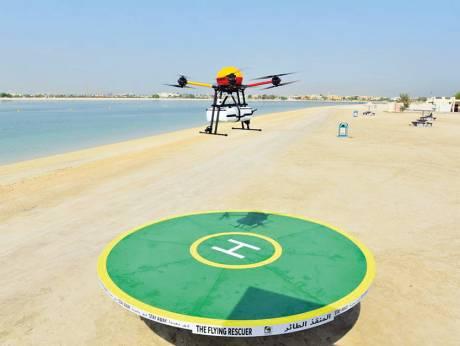 dubai drone lifeguard