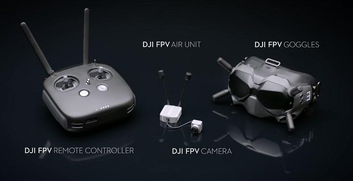 new dji digital fpv system