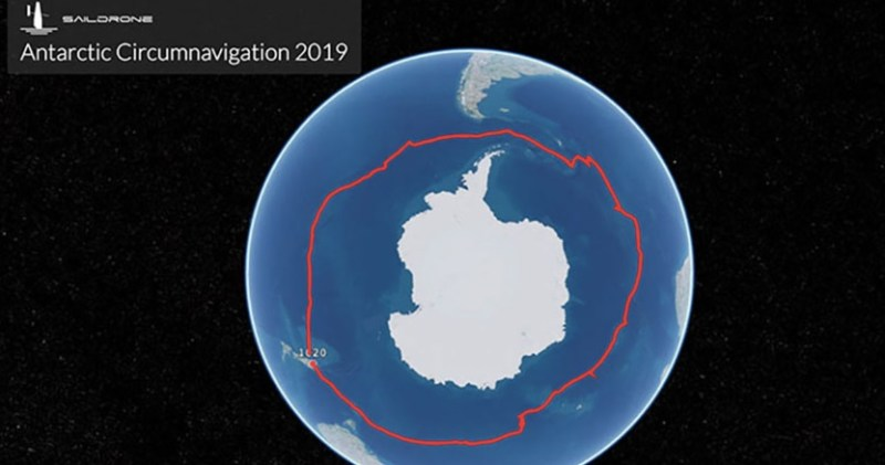saildrone antarctic circumnavigation 2019