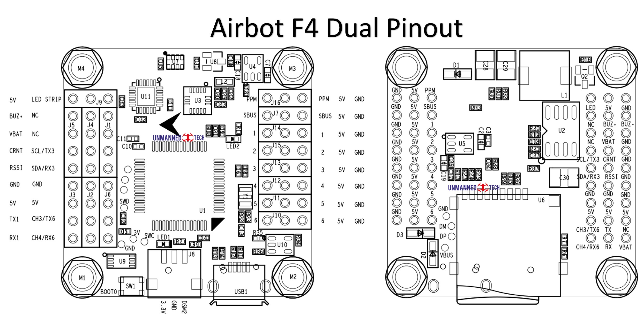 Airbot F4 Inav Hardware Issue