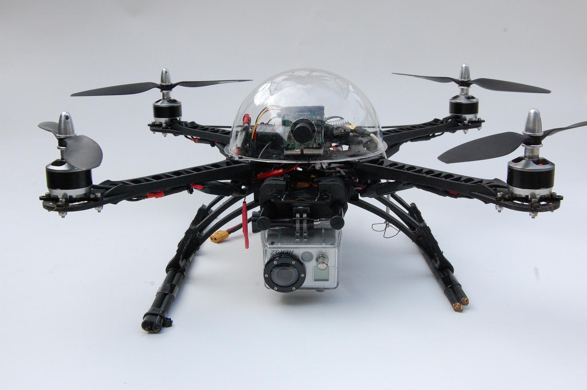 FPV quadcopter, steve lodefink May 4, 2012
