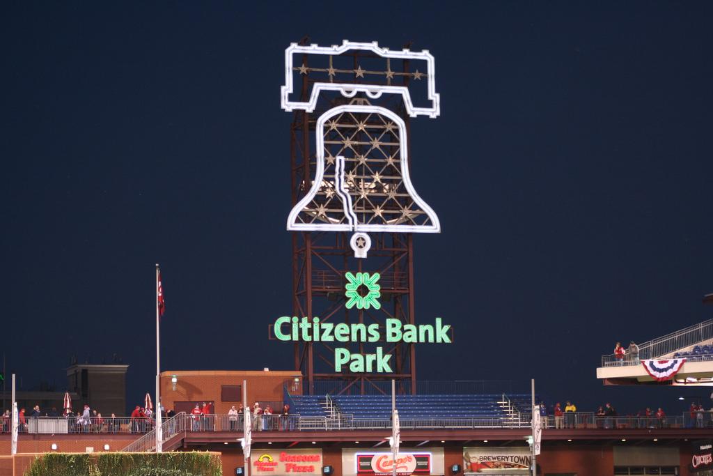 Liberty Bell at Citizens Bank Park, Peter Bond October 19, 2009