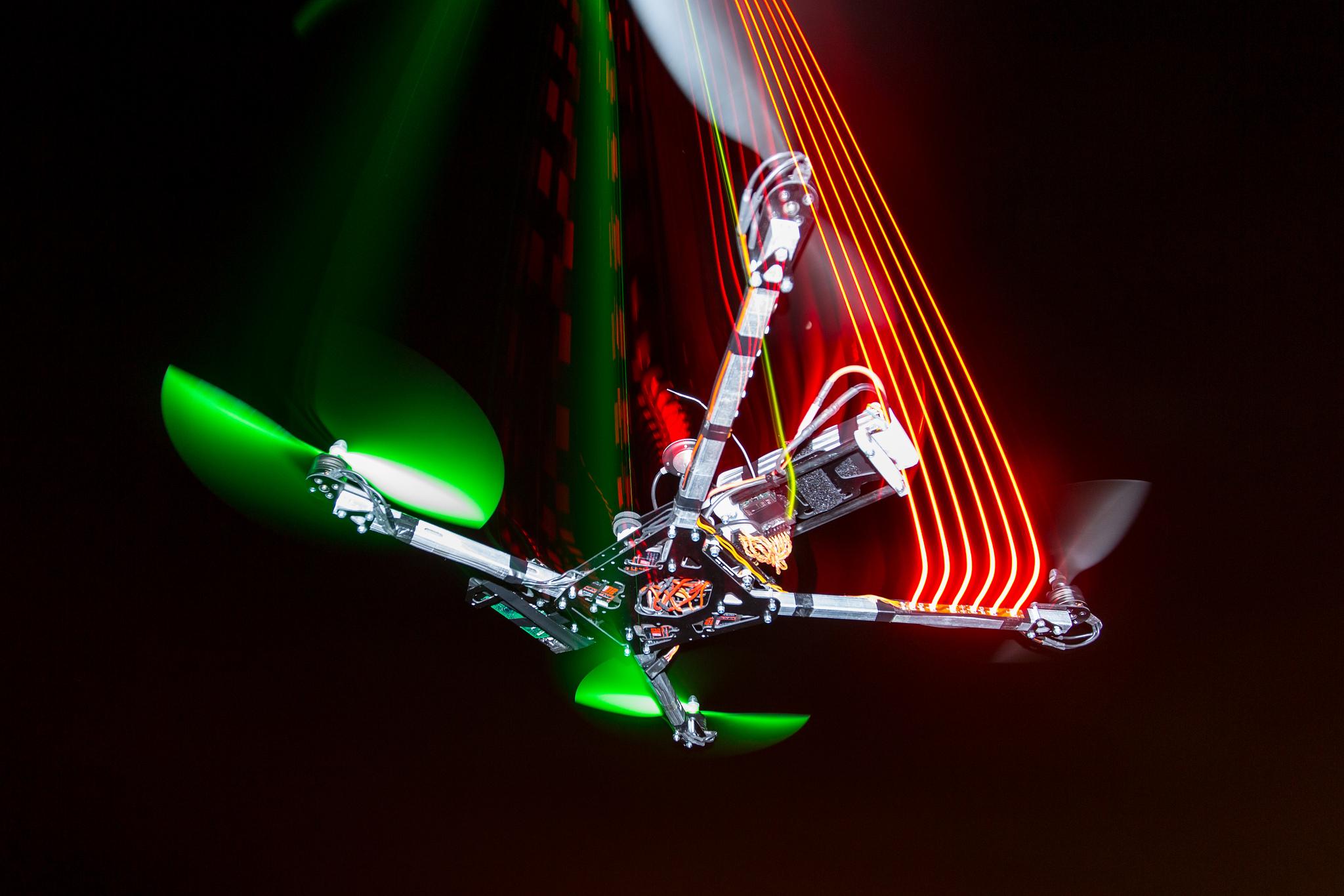 Quadcopter - Spidex, Carsten Frenzl January 19, 2013