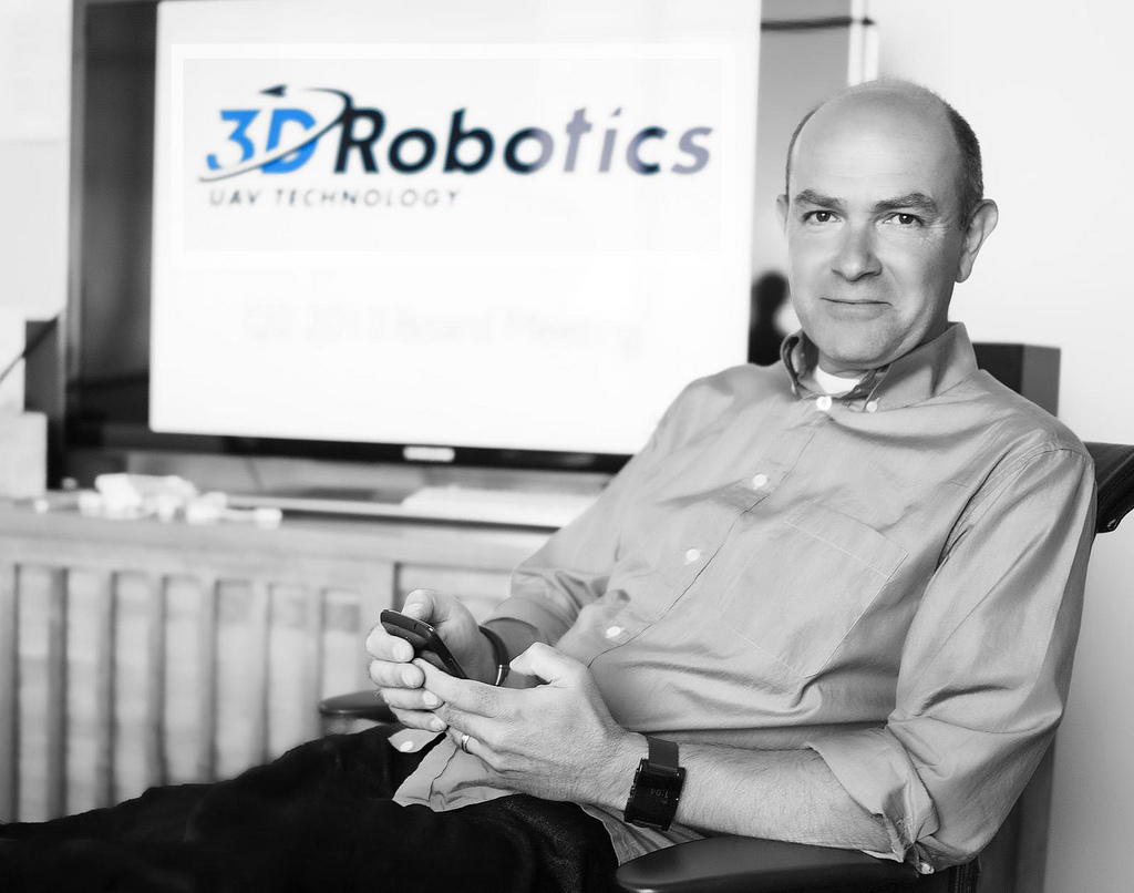 Chris Anderson, CEO of 3D Robotics, Christopher Michel May 16, 2013