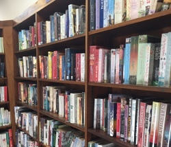 Row of Books in a Library, Jonathan Rolande June 3, 2015