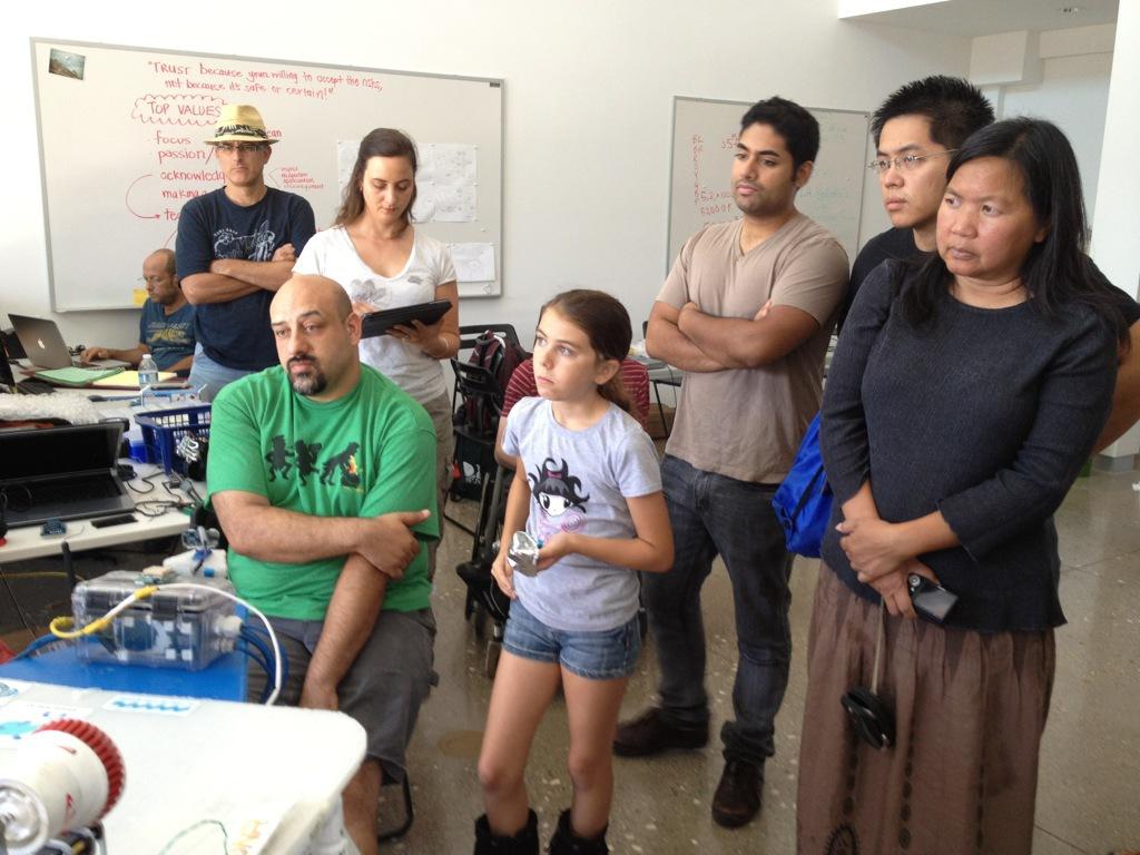Open Lab + Quads 09.09.12, LA Robotics Club September 9, 2012