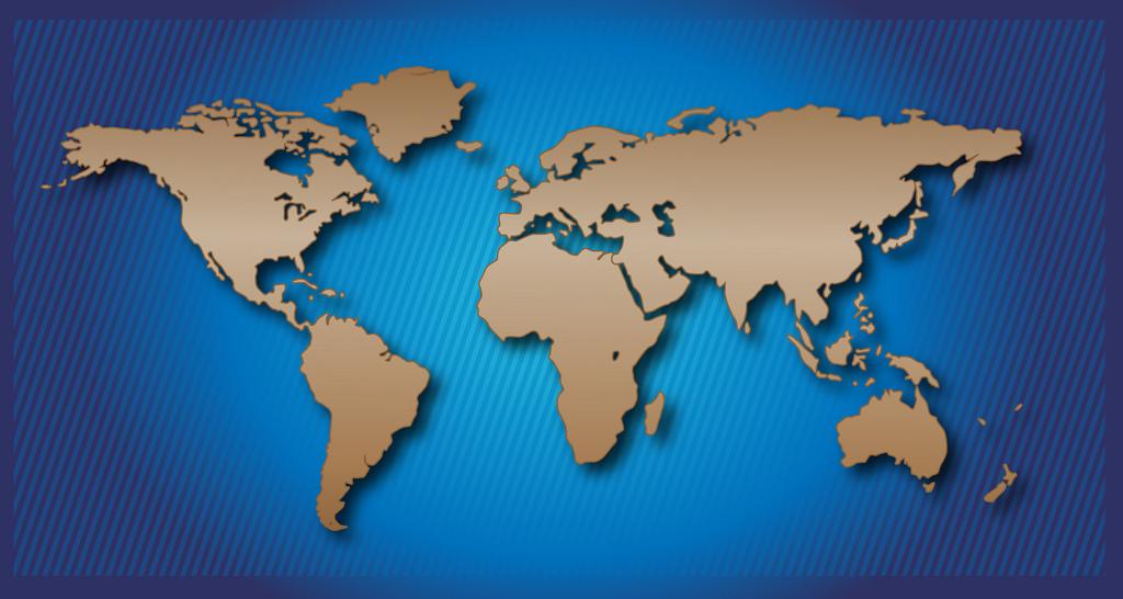 World Map, Sherrie Thai October 17, 2012