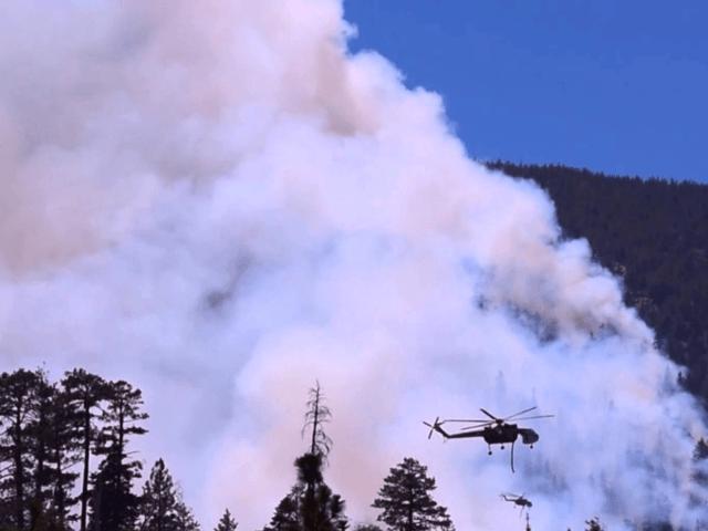 Lake Fire near Big Bear, CA 6/19/2015, Credit: YouTube