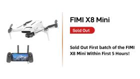 Arriva il Fimi X8 Mini, ma non è ancora pronto per stare sotto i 250 grammi di peso