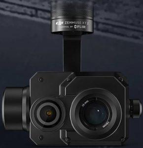 DJII Zenmuse XT2 Thermal Camera By FLIR