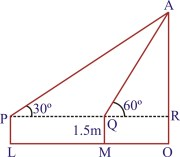 Some Applications of Trigonometry : Exercise 9 1
