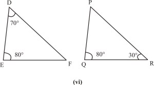 Triangles : Exercise - 6 3 (Mathematics NCERT Class 10th