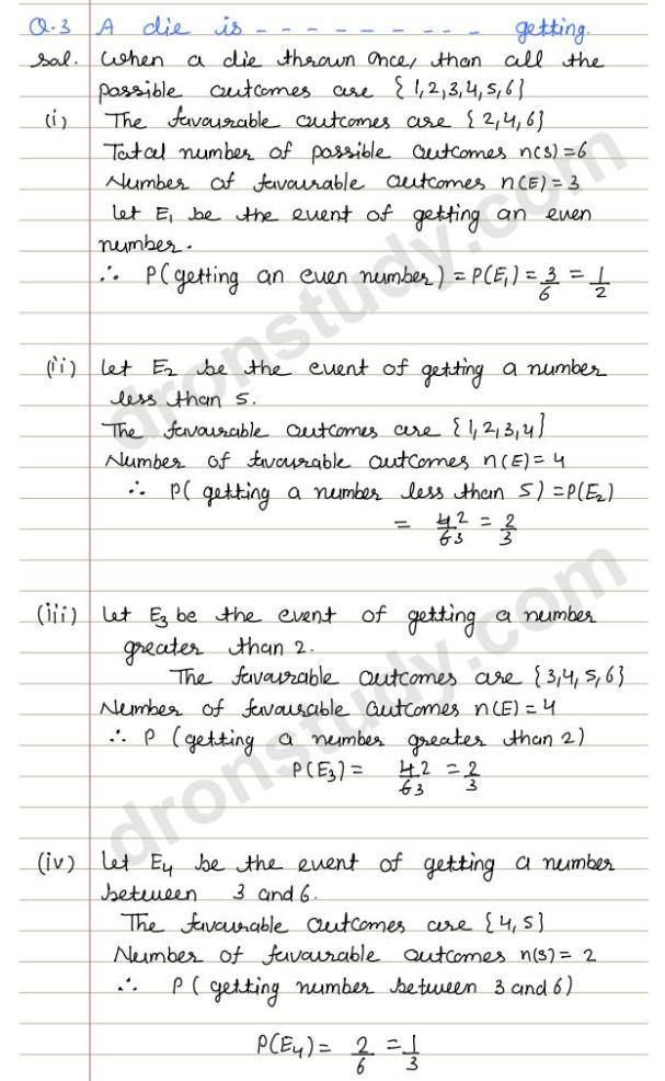 Probability: Ex -15 (R S Aggarwal) - DronStudy com