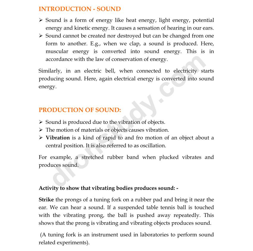 Sound chapter notes dronstudy 1 ccuart Images