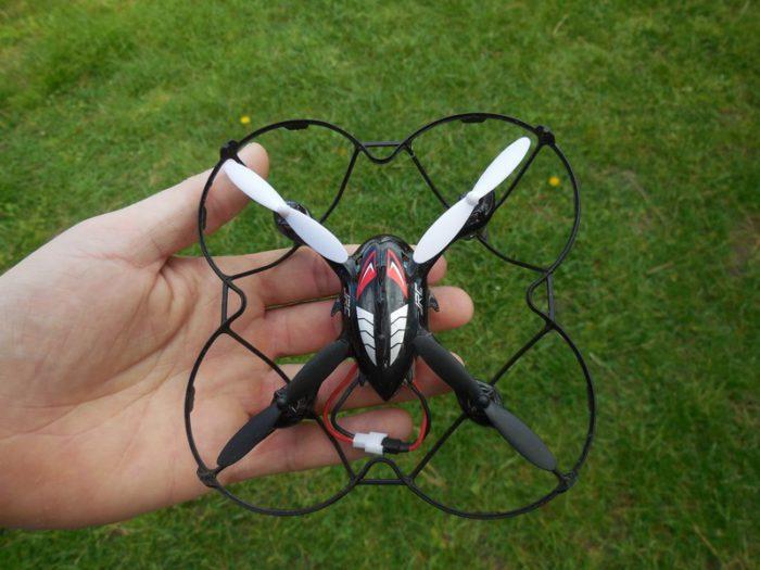 Vyhlášení soutěže o dron JJRC H6C
