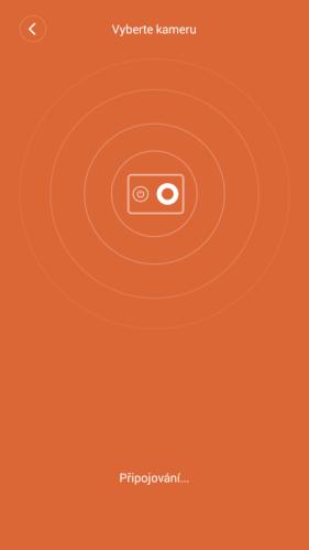 vyhledání kamery