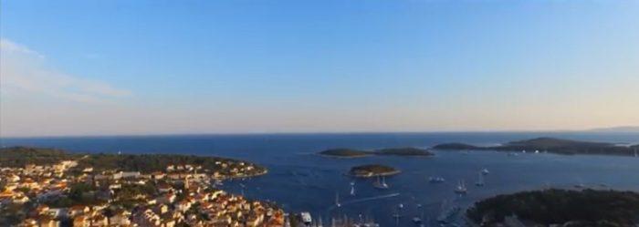 Video: Chorvatsko pohledem dronu